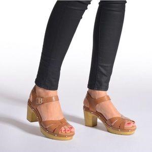 2b95319abbe2 Clarks Shoes - Clarks Ledella Trail Artisan Leather Clog Sandals